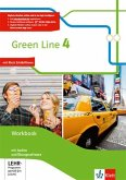 Green Line 4. Workbook mit Audio-CD und Übungssoftware Klasse 8