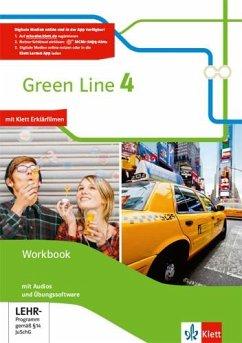 Green Line. Workbook mit Audio-CDs und Übungssoftware 8. Klasse. Bundesausgabe ab 2014