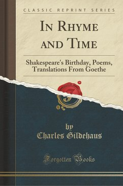 In Rhyme and Time - Gildehaus, Charles