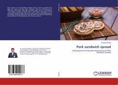 Pork sandwich spread