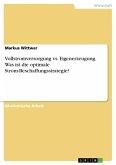 Vollstromversorgung vs. Eigenerzeugung. Was ist die optimale Strom-Beschaffungsstrategie?