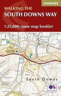 The South Downs Way Map Booklet - Reynolds, Kev
