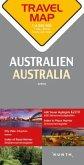 Travelmap Reisekarte Australien / Australia 1:4.000.000