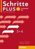 Schritte plus Neu 3+4. Glossar Deutsch-Französisch - Glossaire Allemand-Français