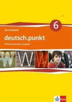 deutsch.punkt. Serviceband. Kopiervorlagen mit CD-ROM und Audio-CD. 10. Schuljahr. Differenzierende Ausgabe