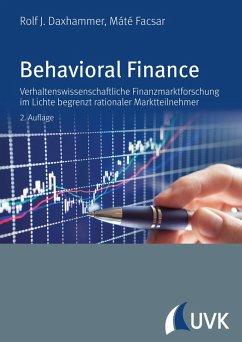 Behavioral Finance (eBook, PDF) - Facsar, Mate; Daxhammer, Rolf J.