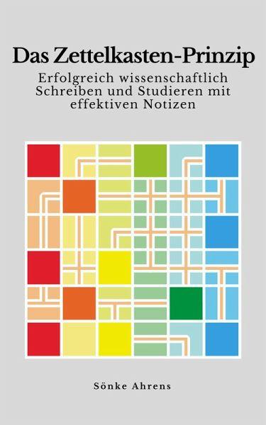 Das Zettelkasten-Prinzip (eBook, ePUB) - Ahrens, Sönke