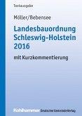 Landesbauordnung Schleswig-Holstein 2016 (eBook, ePUB)