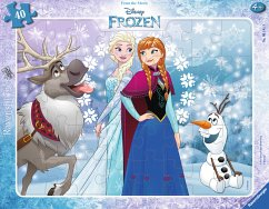 Anna und Elsa (Rahmenpuzzle)