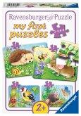 Ravensburger 069521 - my first puzzles, Süße Gartenbewohner!, Kinderpuzzle