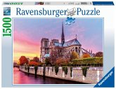 Ravensburger 163458 - Malerisches Notre Dame - Puzzle, 1500 Teile