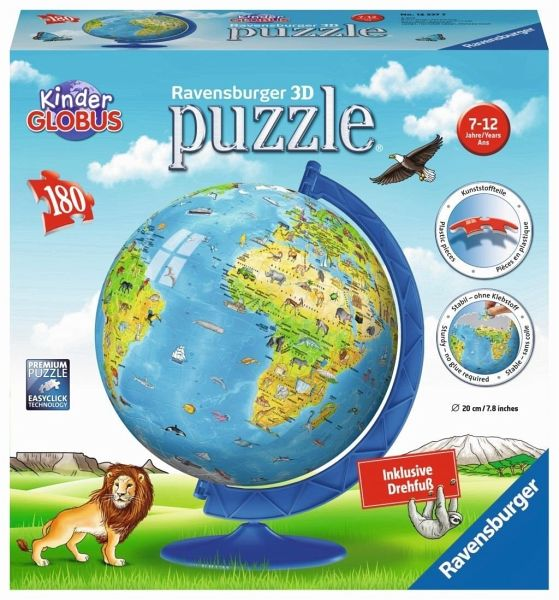 Ravensburger 123377 - Kinder-Globus in deutscher Sprache