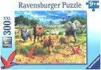 Ravensburger 132195 - Afrikas Tierkinder - Kinderpuzzle, 300 XXL-Teile