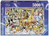 Ravensburger 174324 - Disney: Mickey als Künstler - Puzzle, 5000 Teile