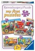 Ravensburger 069545 - my first puzzles, Bei der Arbeit!, Kinderpuzzle