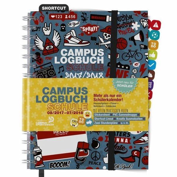 CampusLogbuch SCHULE 2017/18 - Kalender portofrei bestellen