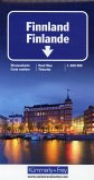 Kümmerly & Frey Karte Finnland / Finlande