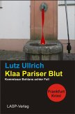 Klaa Pariser Blut (eBook, ePUB)
