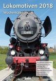 Wochenkalender Lokomotiven 2018