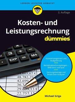 Kosten- und Leistungsrechnung für Dummies (eBook, ePUB) - Griga, Michael