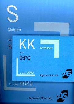 Bundle Soyka, Skript StPO + Soyka, Karteikarten StPO