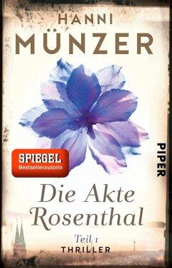 Die Akte Rosenthal 1 / Seelenfischer Tetralogie Bd.2 (eBook, ePUB) - Münzer, Hanni