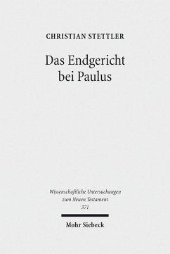 Das Endgericht bei Paulus (eBook, PDF) - Stettler, Christian