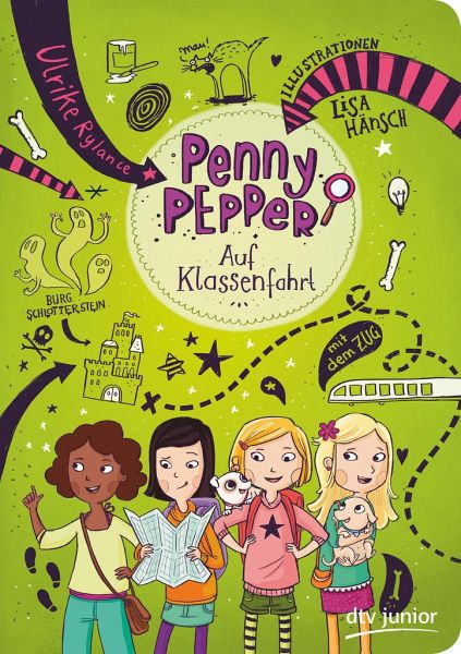 Buch-Reihe Penny Pepper von Ulrike Rylance