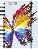 BRUNNEN Schülerkalender/Schüler-Tagebuch 2017/18 Schmetterling