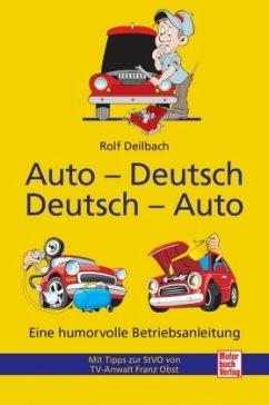 Auto - Deutsch, Deutsch - Auto (Mängelexemplar)