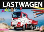 Lastwagen-Malbuch (Mängelexemplar)