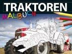 Traktoren-Malbuch (Mängelexemplar)