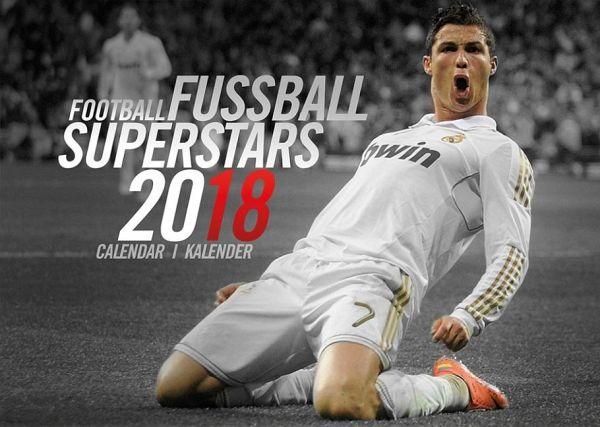 fussball superstars 2018 kalender von lionel messi. Black Bedroom Furniture Sets. Home Design Ideas