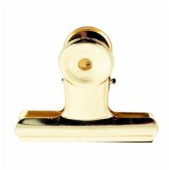 Klemmbrettklammer 63 mm, Gold