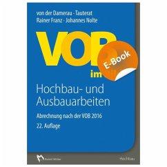 VOB im Bild - Hochbau- und Ausbauarbeiten - E-Book (PDF) (eBook, PDF) - Nolte, Johannes; Franz, Rainer
