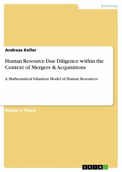 Human Resource Due Diligence within the Context of Mergers & Acquisitions (eBook, ePUB)
