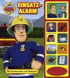 Feuerwehrmann Sam - Einsatzalarm,Klappen-Geräusche-Buch