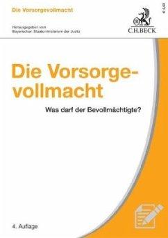Die Vorsorgevollmacht - Knittel, Bernhard