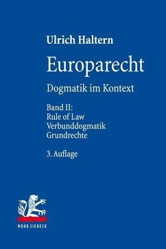 Europarecht - Haltern, Ulrich