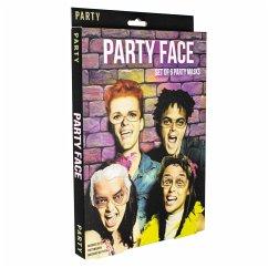 Party Gesichtsmasken Stirn/Augen (8stk)