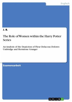 The Role of Women within the Harry Potter Series (eBook, ePUB)