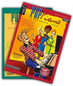Pop Piano in der Praxis, 2 Bde. + Audio-CD - Gundlach, Michael