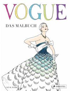 VOGUE - Das Malbuch (Mängelexemplar)