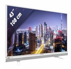 Grundig 43 GFW 6628 weiß 108 cm (43 Zoll) Fernseher (Full HD, DVB-T2/ DVB-S2/ DVB-C, Smart TV)