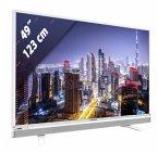 Grundig 49 GFW 6628 weiß 123 cm (49 Zoll) Fernseher (Full HD, DVB-T2/ DVB-S2/ DVB-C, Smart TV)