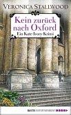 Kein Zurück nach Oxford (eBook, ePUB)
