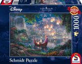 """Schmidt 59480 - Puzzle """"Thomas Kinkade"""", 1000 Teile, Disney Rapunzel"""