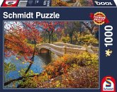 Spaziergang im Central Park, New York (Puzzle)