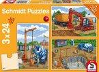 Auf der Baustelle (Kinderpuzzle)