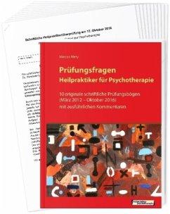Prüfungsfragen Heilpraktiker für Psychotherapie